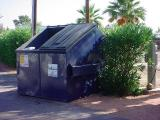 our new dumpster fixed and working well