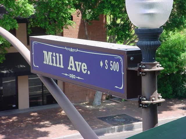 Mill avenue<br>Tempe Arizona