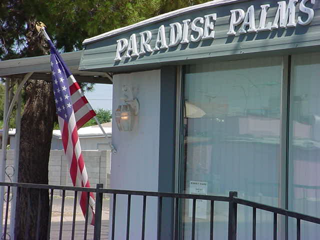 Paradise Palms Resort<br>new owner 480-964-3552
