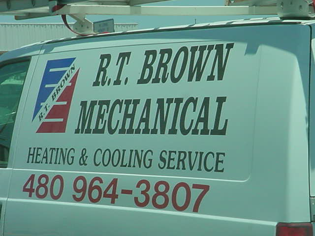 R.T. Brown Mechanical <br> 480-964-3807