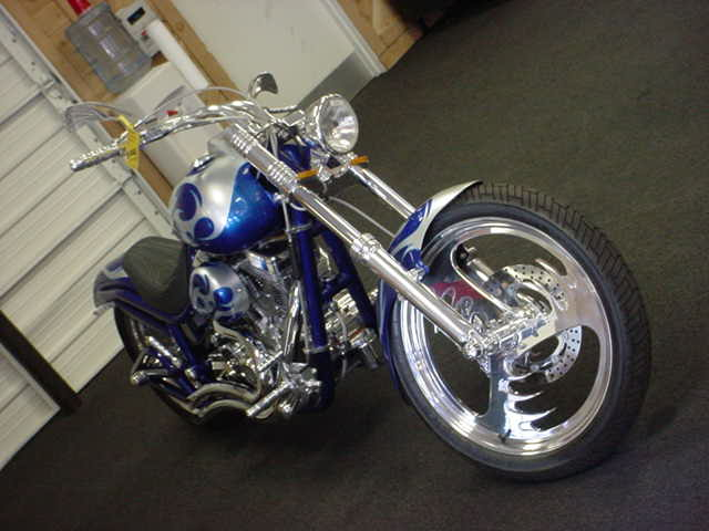 beautiful custom motorcycle