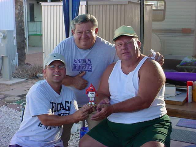 Jeff, Rick, Curtis and Ubi