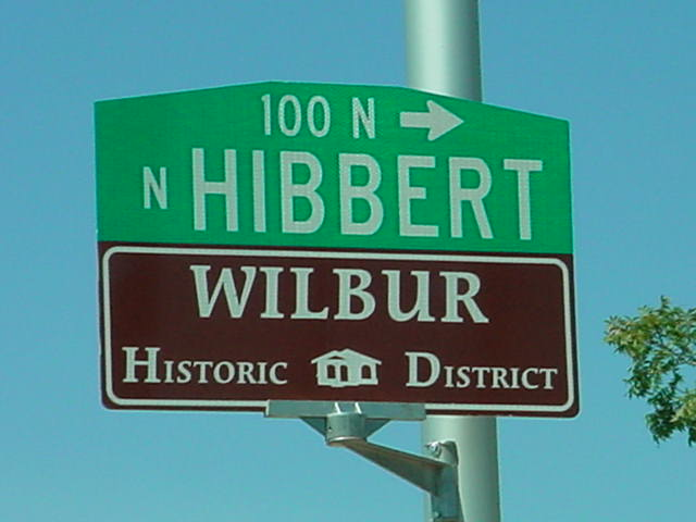 fire training in Mesa <br> Hibbert & Wilber <br> Historic District