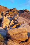 Fallen Sandstone Rocks