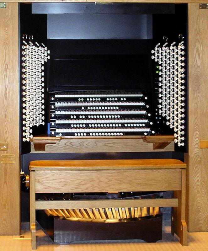 Liverpool Cathedral organ.