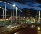 Barcelona, Spain - May 2003 and November 2008