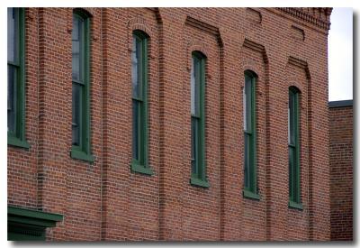 Brick Faced