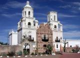 San Xavier del Bac Misson, near Tucson Arizona