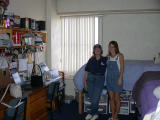 Ed and Judy visit with Meredith in Tucson Arizona, November 2001