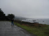 Caryn & Max Spend the Day Driving the Coast, Nov. 11, 2001
