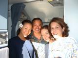 Aloha Kakahiaka!  Morning Sun Greets our Crew in bound from Sacramento w/ continuing service to Maui!