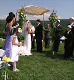 Jewish Half Of The Wedding Ceremony