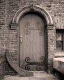 Village Hall - Trustee's Entrance