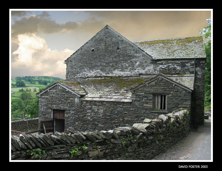 typical stone cottage