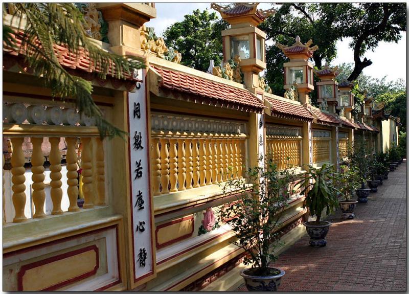 Pagoda wall