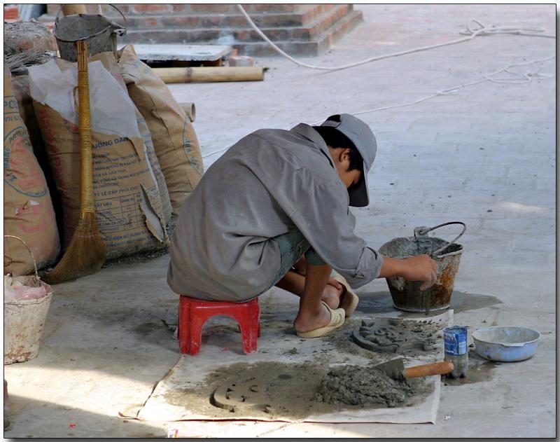 Pagoda restoration
