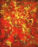 2000 - 98 x 79 cm Encre de chine et acrylique sur papier