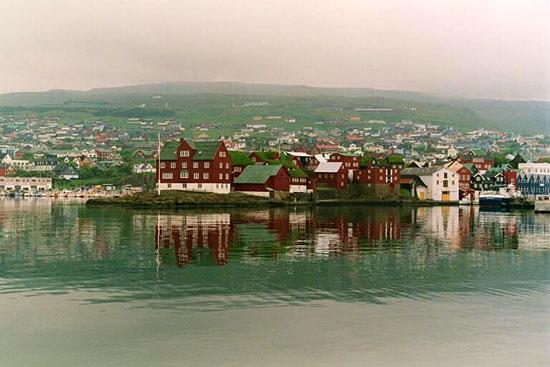 City part, / Løgmans staður