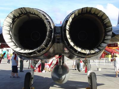FA-15 exhaust manifolds