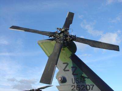 Helo tail rotor
