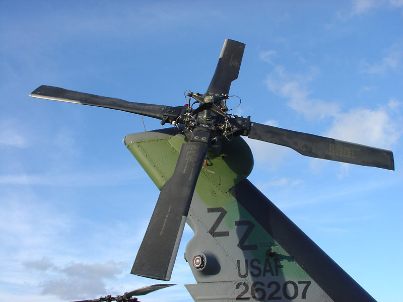 Helo tail rotor