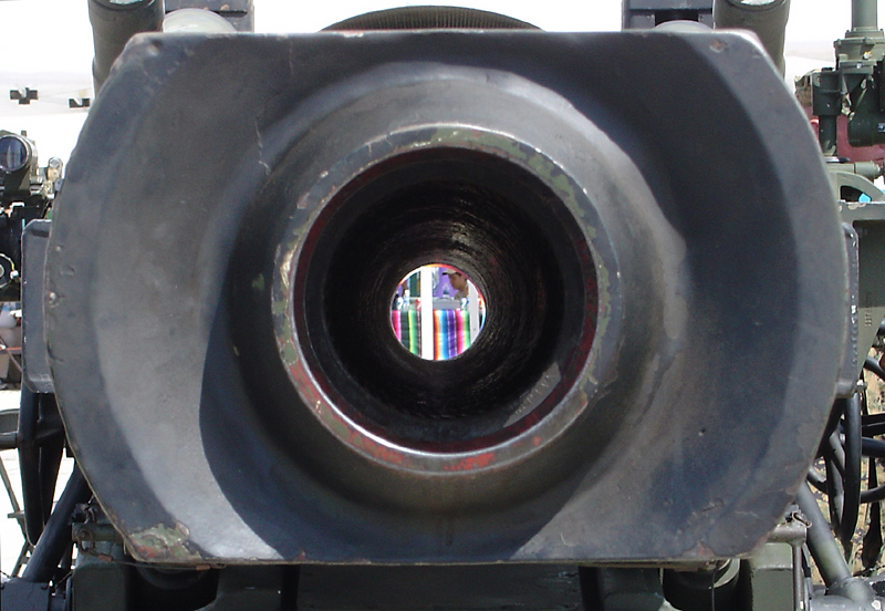 Light at the other end of the tunnel (howitzer)