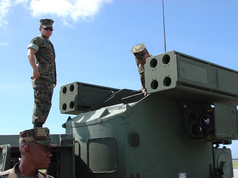 Stinger missile launcher