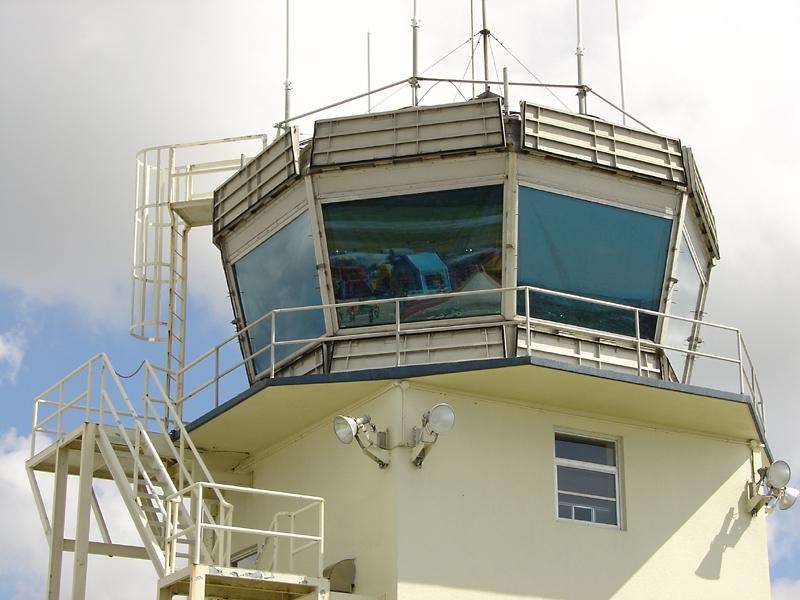Futenma control tower