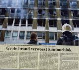 Fire at Posthoornstraat