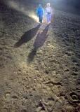 Dust, Shadows and Footprints. Maui