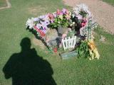 dad visiting Tarina on July 2nd 2003