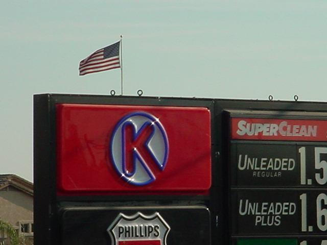 gasoline prices Circle K in Arizona and America <br>05-JUL-2003