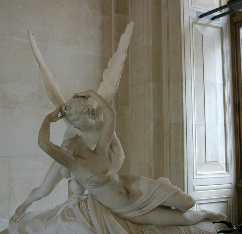 Psyché and Cupid