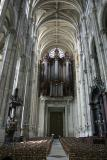 The organ of St. Eustache