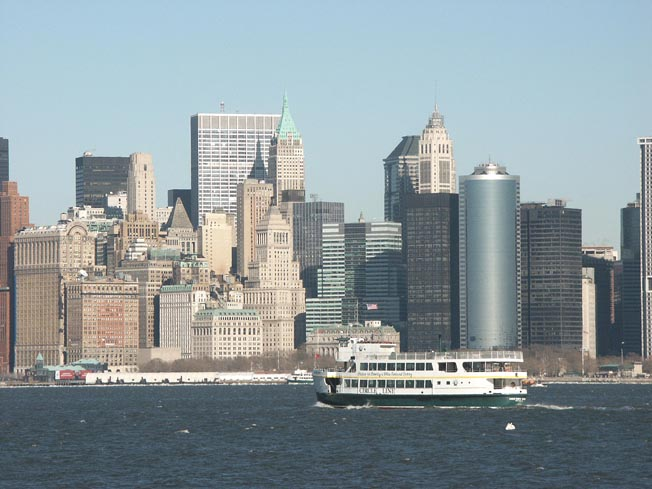 Manhattan, And We Are On The Ferry