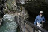 Arvin at Johnston Canyon