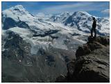 Zermatt -- Steve on Oberrothorn