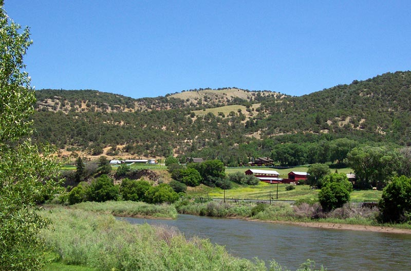 Sheep Farm on the Colorado River