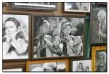 Work of artist - Chiang Mai Night Bazaar
