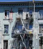 Fire Escape and Laundry