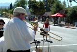 Old guy with trombone