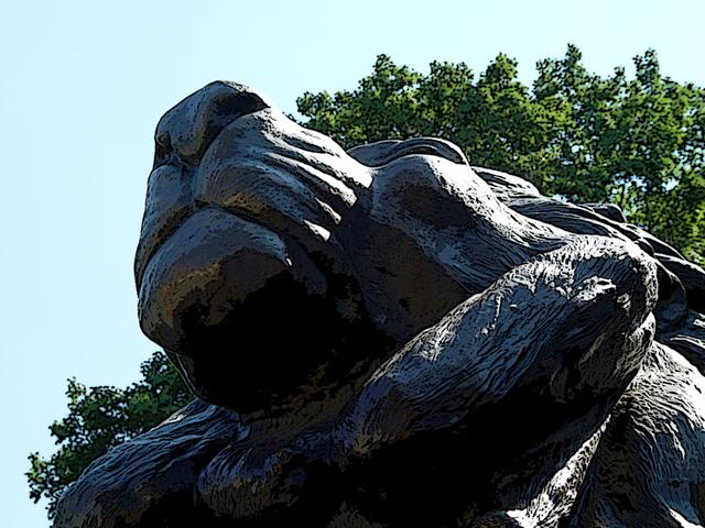 Zoo Gate Sculpture