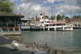 Luzerner Seebecken mit Dampfschiff