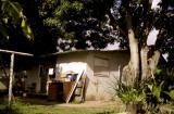Chez les parents d' Oswaldo à San Tomé