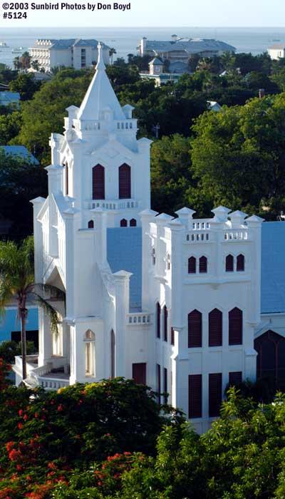 Key West Church stock photo #5124
