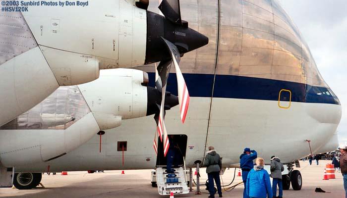 NASAs Aerospacelines 777SGT-201F N941NA aviation air show stock photo #HSV120K_025
