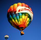 AQ's winning hot-air balloon - 1st place at the Reno Balloon Races