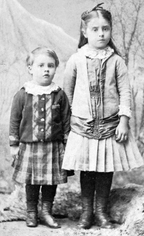 Royal and Stella Fisher 1888