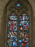 Stained glass, National Cathedral, Washington DC