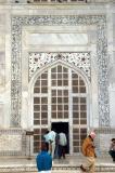 Entrance to the mausoleum